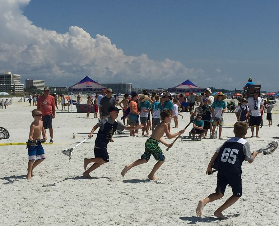 First SPEED Lacrosse™ Tournament On the Beach Drew Over 200 Participants
