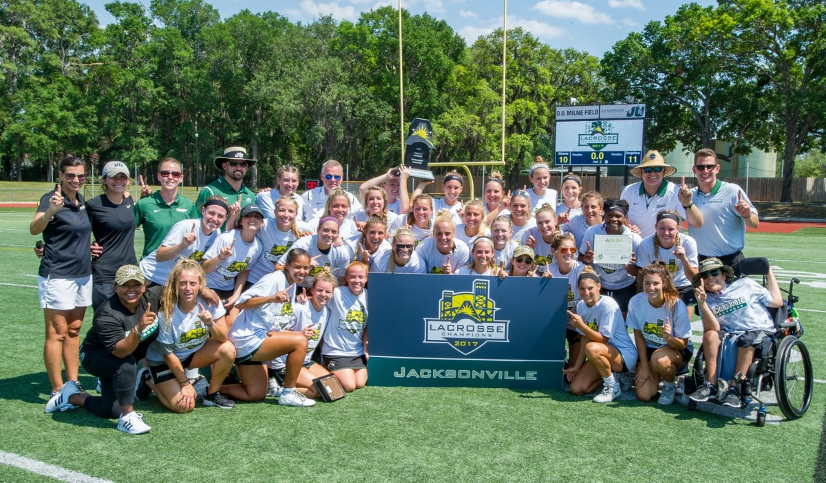 JU Dolphins Crowned ASUN Tournament Champions With 11-10 Win!