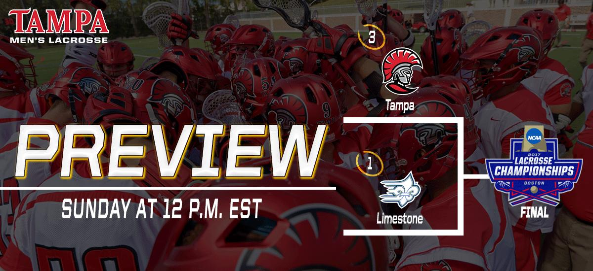 Tampa Spartans to Face #1 Limestone on Sunday at Noon – Live Stream Available!