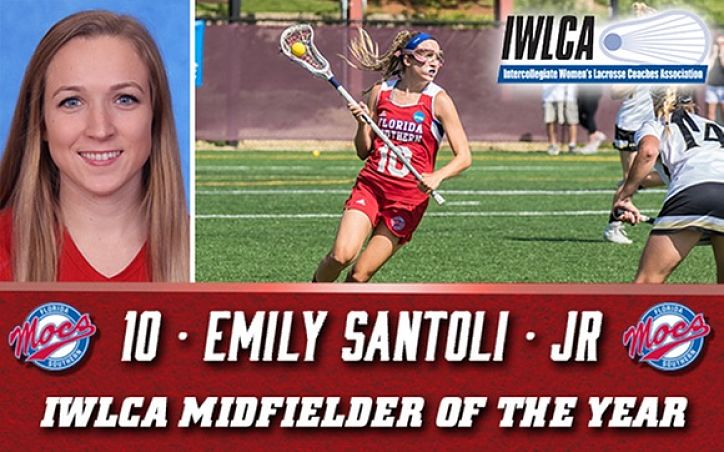FSC:  Santoli Named IWLCA Midfielder of the Year Again!
