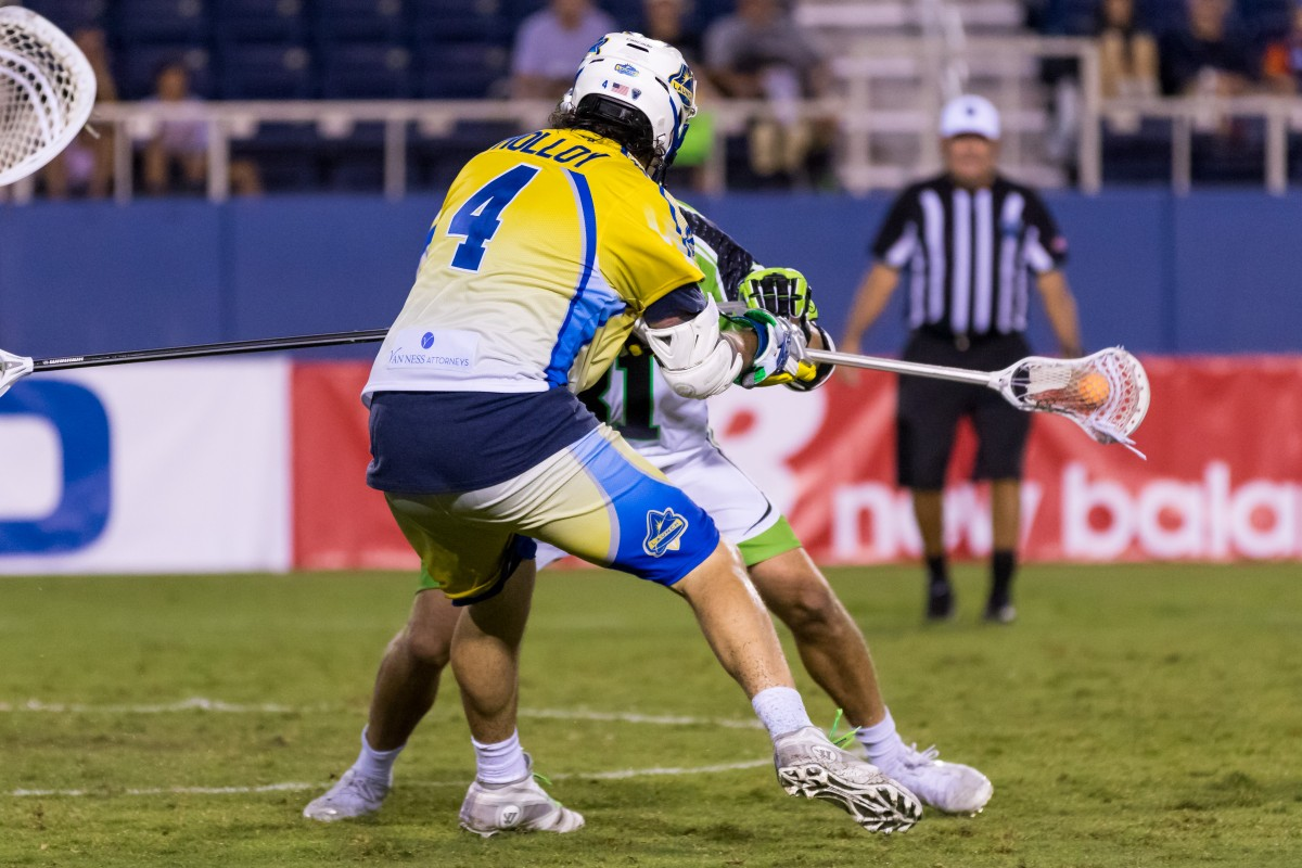 Launch's Dylan Molloy Named the MLL Cascade Rookie of the Week!