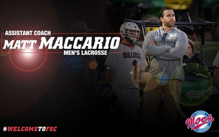 FSC:  Men's Lacrosse Adds Maccario to Coaching Staff