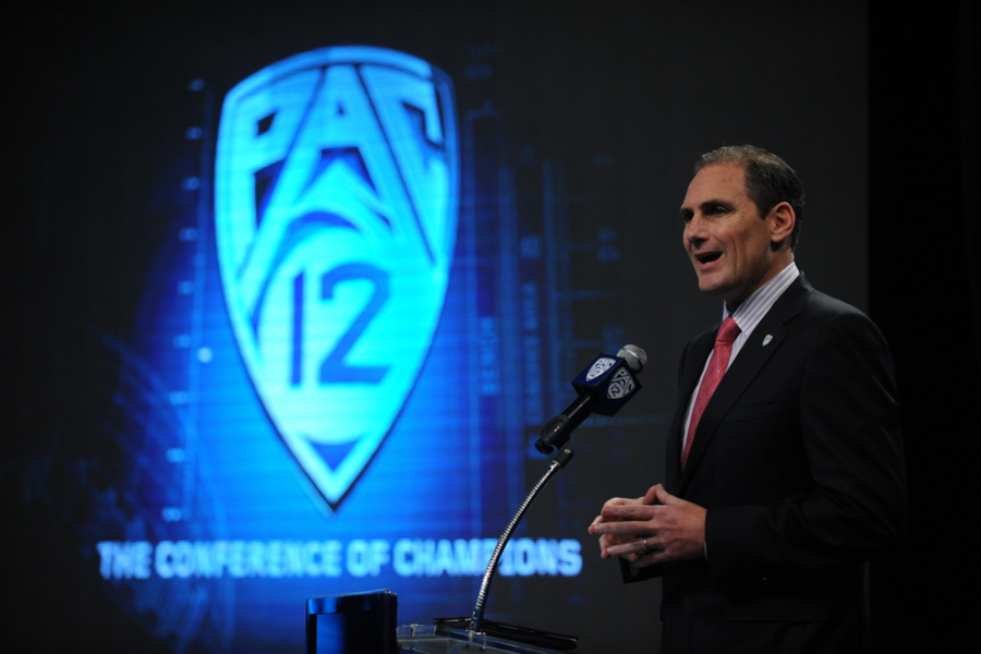 Pac-12 Commissioner Larry Scott: 'I'm Very Bullish on the Sport of Lacrosse'