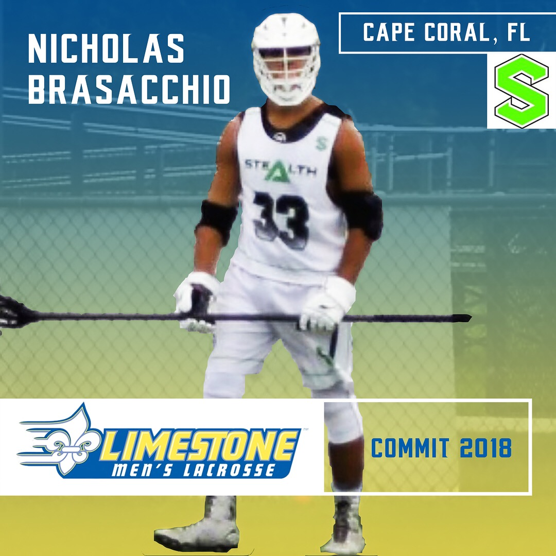 Bishop Verot 2018 Nicholas Brasacchio Commits to Limestone!