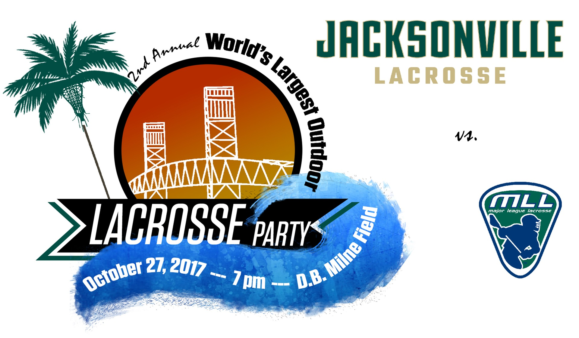 Tonight!  JU Second Annual World's Largest Outdoor Lacrosse Party