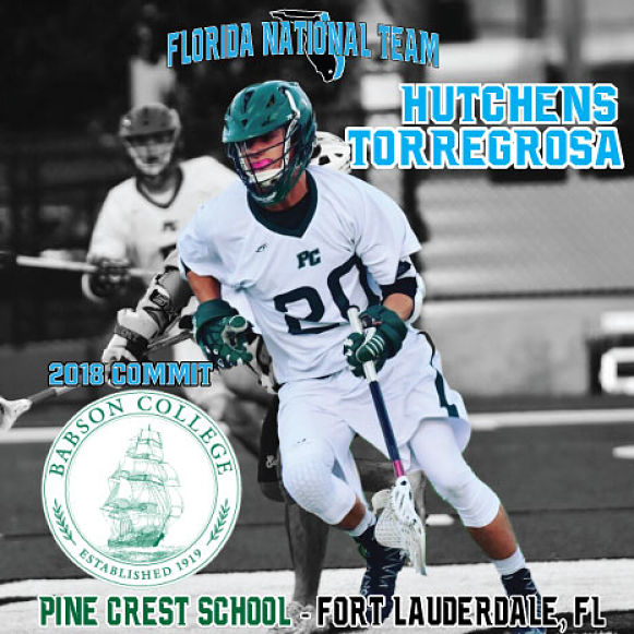 Pine Crest 2018 Hutchens Torregrosa Commits to Babson College!