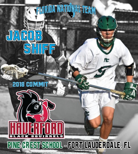 Pine Crest 2018 Jacob Shiff Commits to Haverford College!