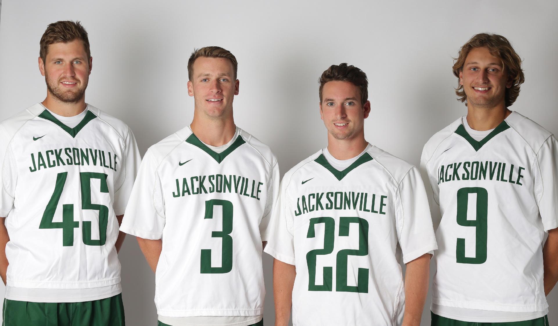 JU Men's Lacrosse Names 2018 Captains