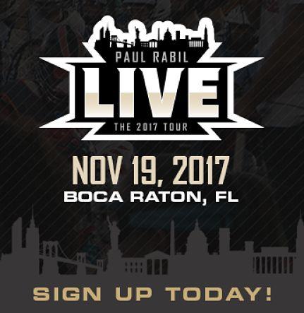 Paul Rabil Live! The 2017 Tour - Boca Raton