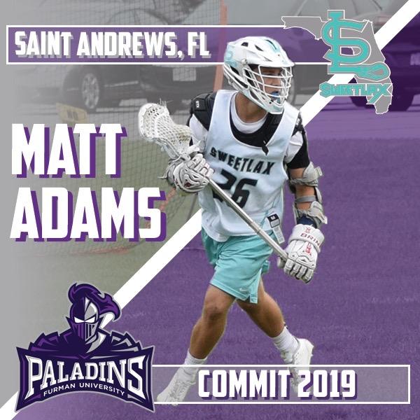 Saint Andrew's 2019 A Matthew Adams Commits to Furman!