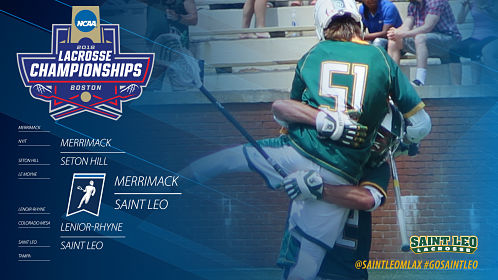 Saint Leo Men's Lacrosse to Make Program's First-Ever NCAA DII Championship Appearance