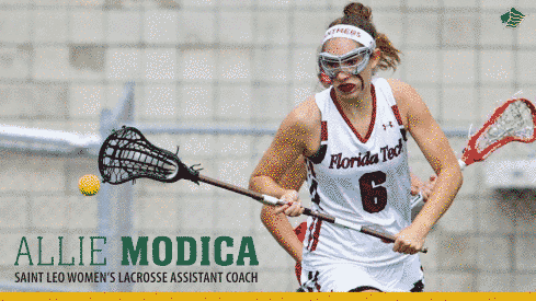 Saint Leo Women:  Hansen Welcomes Modica as Women's Lacrosse Assistant Coach