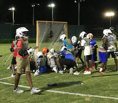 Delray Lacrosse & Leadership Partners With Stealth Lacrosse For Halloween Night!