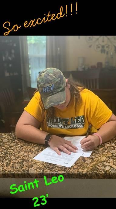 Lyman High 2019 Rachel Smythe Commits to Saint Leo!