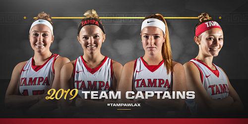 Tampa Women's Lacrosse Announces 2019 Team Captains