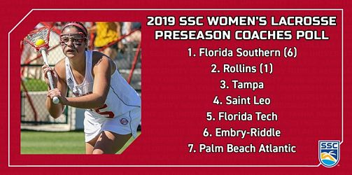 2019 SSC Women's Lacrosse Season Outlook, FSC Expected to Repeat