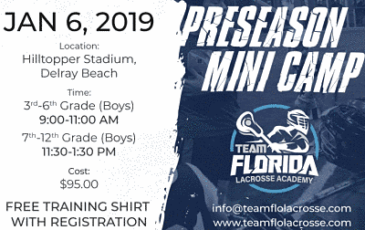 Jeff Goldberg & Chris Spaulding to Hold Preseason Mini Training Camp on January 6th in Delray Beach!