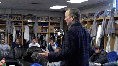 Tampa Bay Lightning Head Coach Jon Cooper Visits His Hofstra Lacrosse Roots!