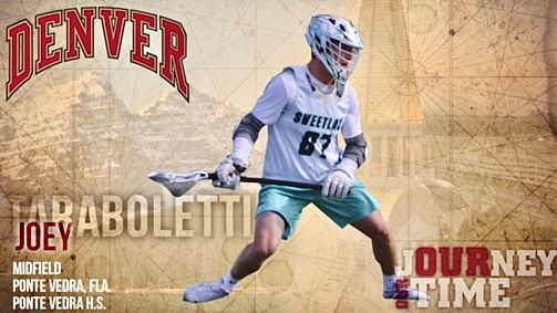 Ponte Vedra 2021 Joe Taraboletti Commits to the University of Denver!