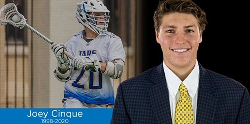 Rollins Mourns the Loss of Men's Lacrosse Student-Athlete Joey Cinque