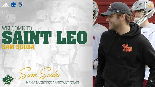 Saint Leo Men:  Jorgensen Welcomes Scoba as Newest Member of Saint Leo Men's Lacrosse Coaching Staff