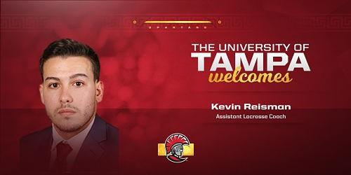 Tampa:  Men's Lacrosse Announces Kevin Reisman as Assistant Coach
