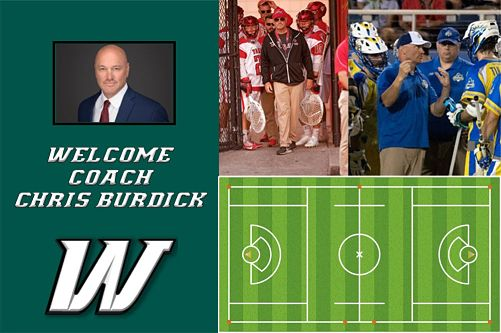 Webber Intl Introduces Men's & Women's Lacrosse – Chris Burdick Named Men's Coach & Director of Both Programs!