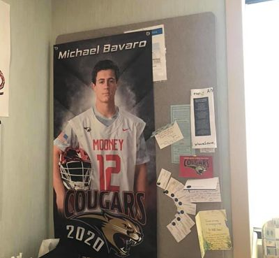 Cardinal Mooney's Mike Bavaro: The Long Road to Recovery
